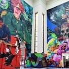 """Murales conmemorativos de los 50 años de """"Cien años de soledad"""""""