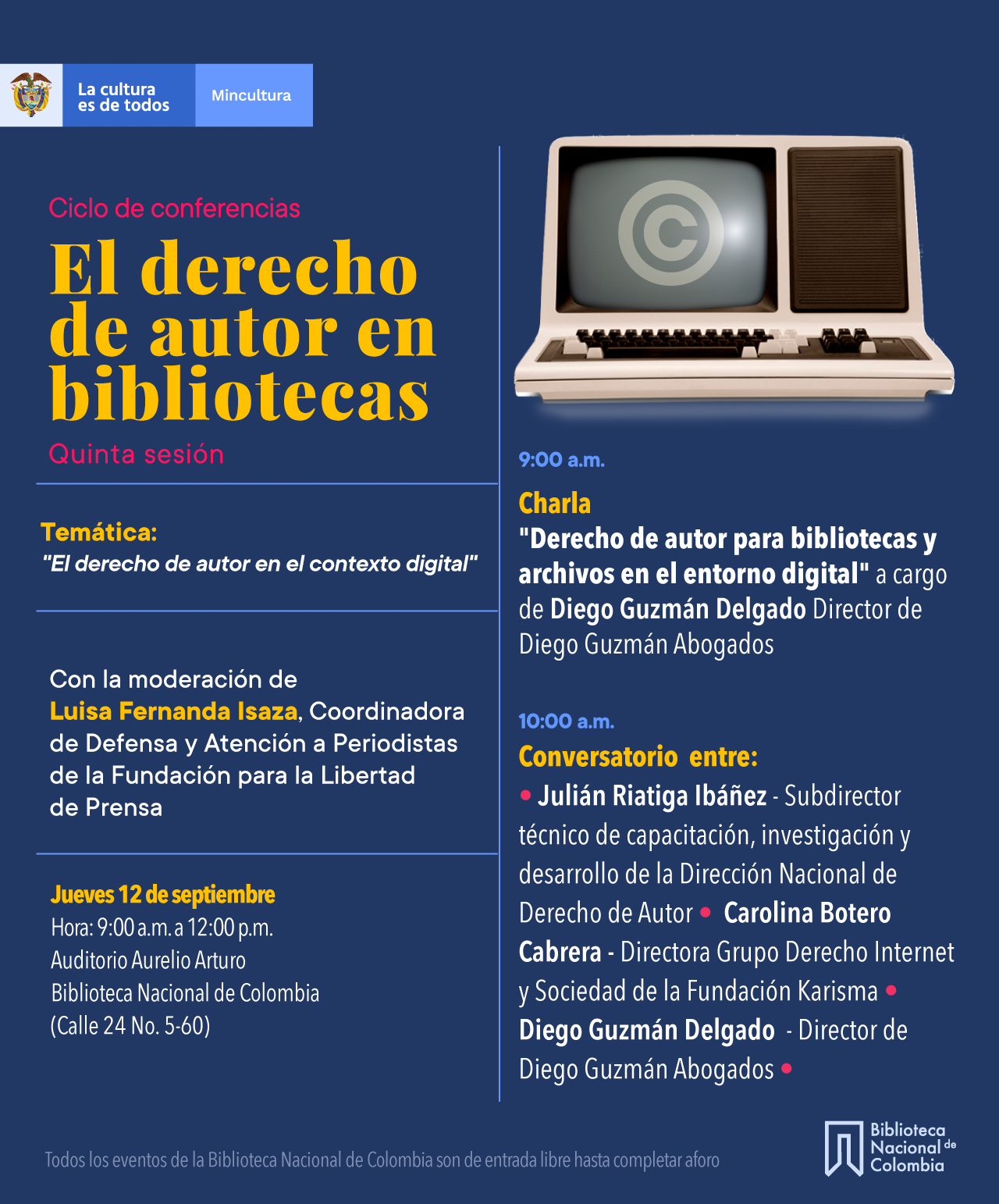 Ciclo de conferencias: