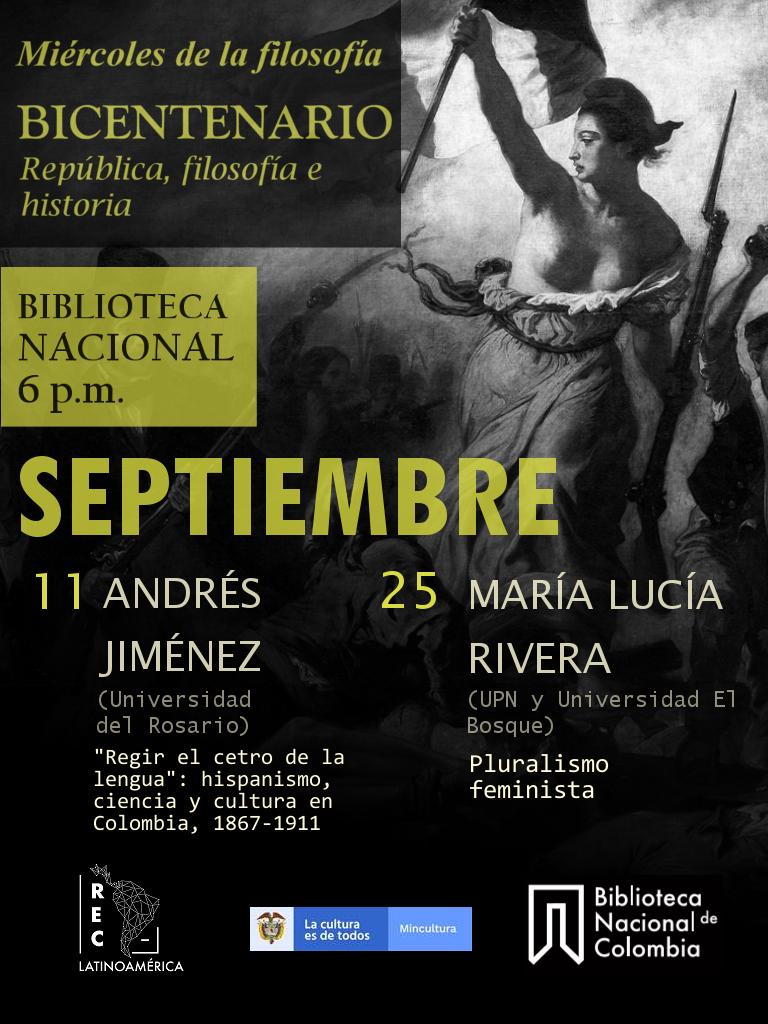 Charla Miércoles de Filosofía: Bicentenario, República, filosofía e historia