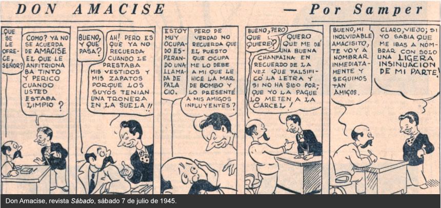 Entre Viñetas, la historieta colombiana en prensa