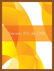 Decreto 853 de 1998