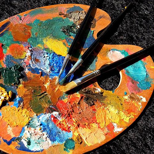 """Taller """"Pluma y pincel: escritores que pintan y pintores que escriben""""."""