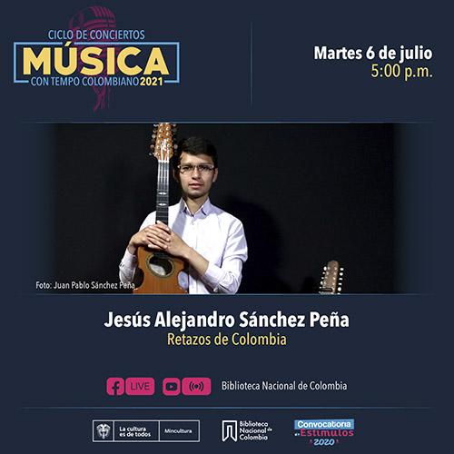 Concierto de Jesús Alejandro Sánchez Peña
