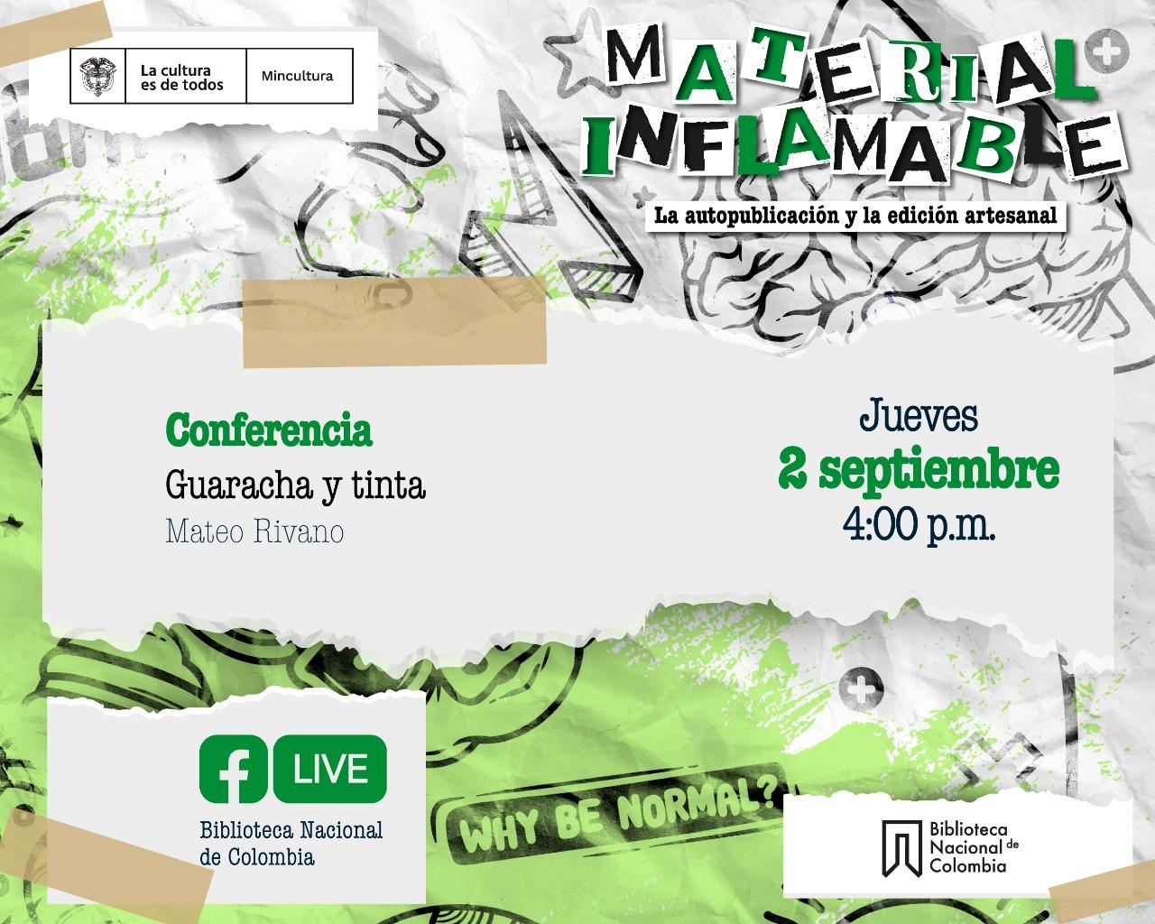 Conferencia Guaracha y Tinta
