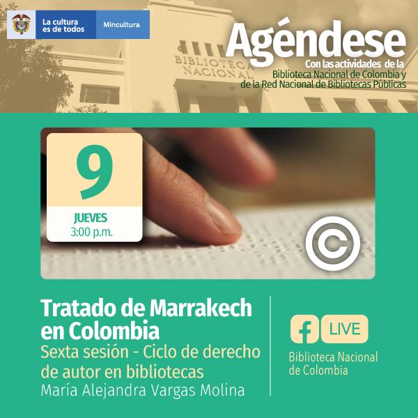 Contextualización del tratado de Marrakech en Colombia