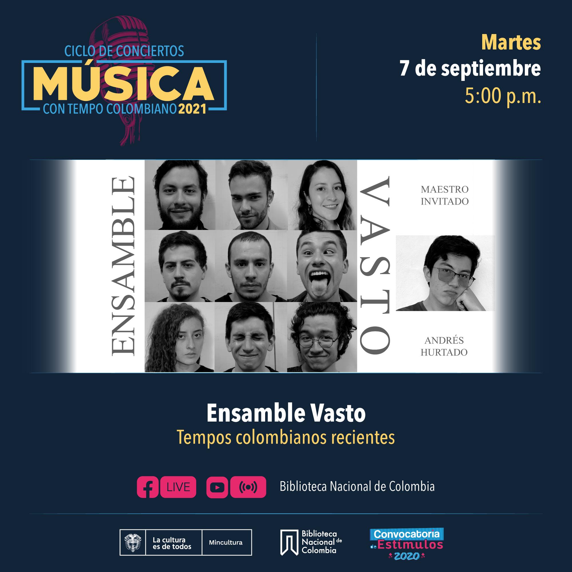 Música Con Tempo Colombiano: Ensamble Vasto