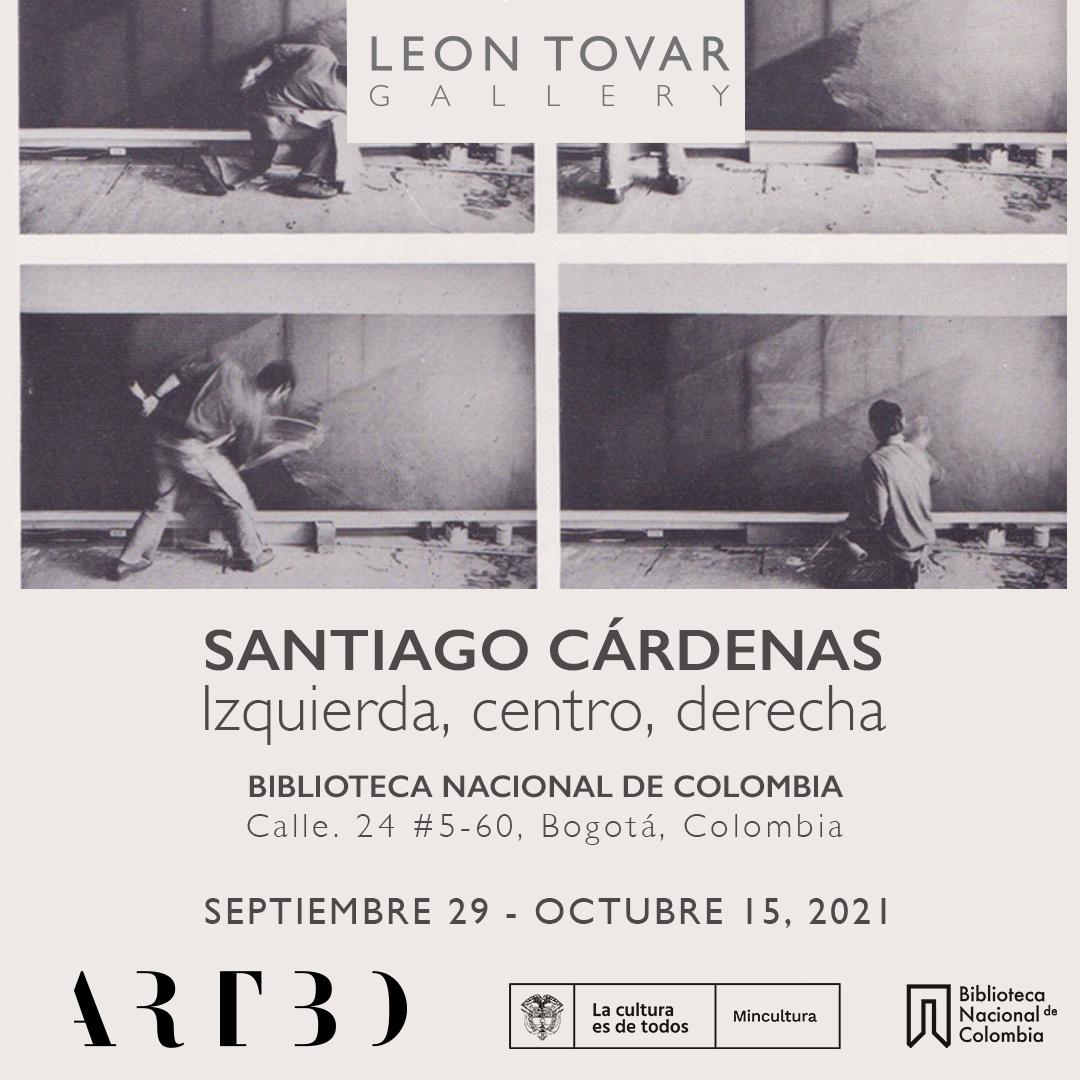 Semana ARTBO - Santiago Cárdenas: Izquierda, centro, derecha