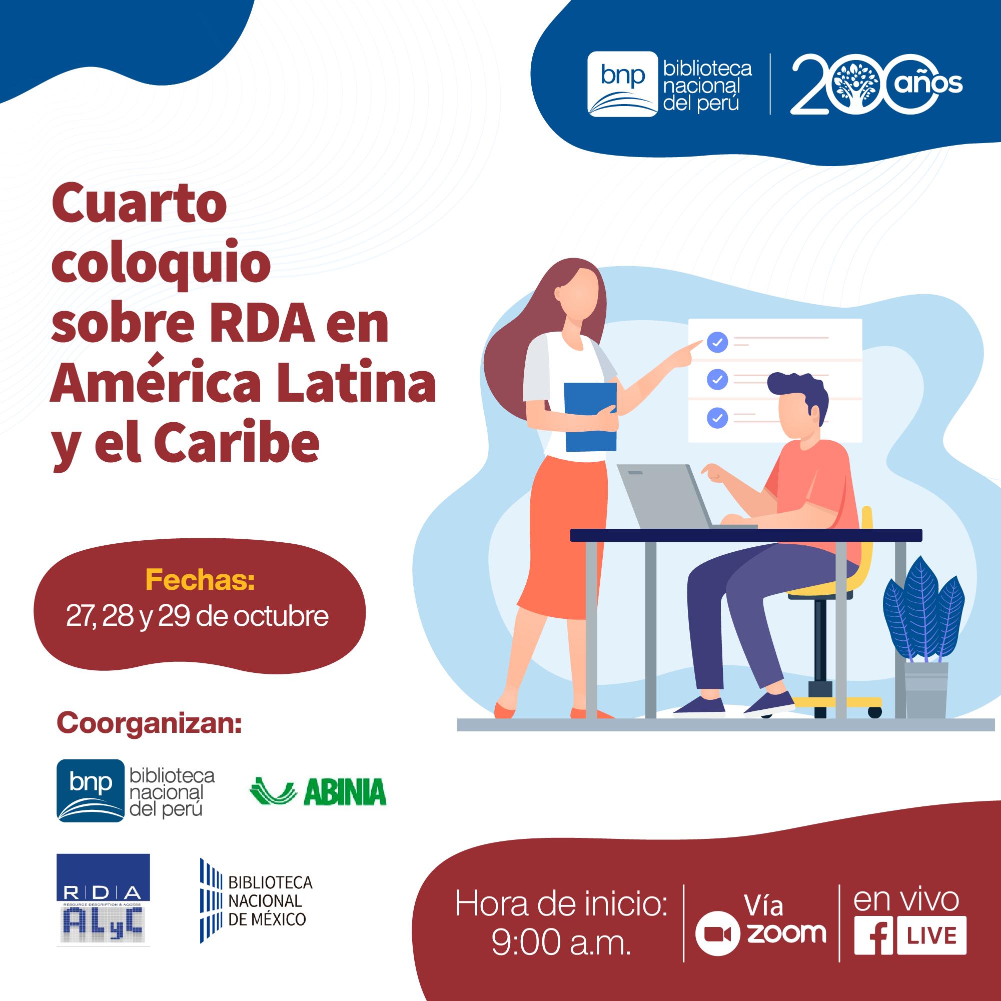4to Coloquio sobre RDA en Amèrica Latina y el Caribe