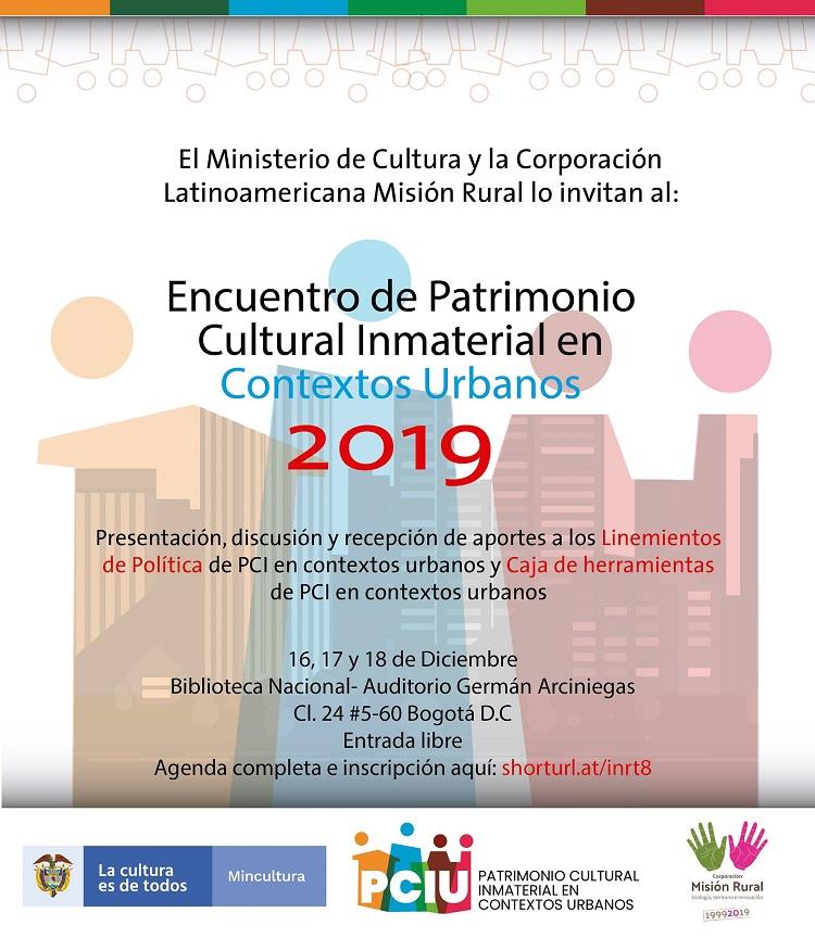 Encuentro de Patrimonio Cultural Inmaterial Urbano
