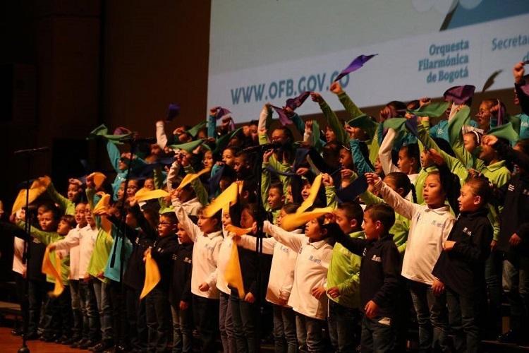 Concierto: Coro Proyecto Educativo Orquesta Filarmónica de Bogotá