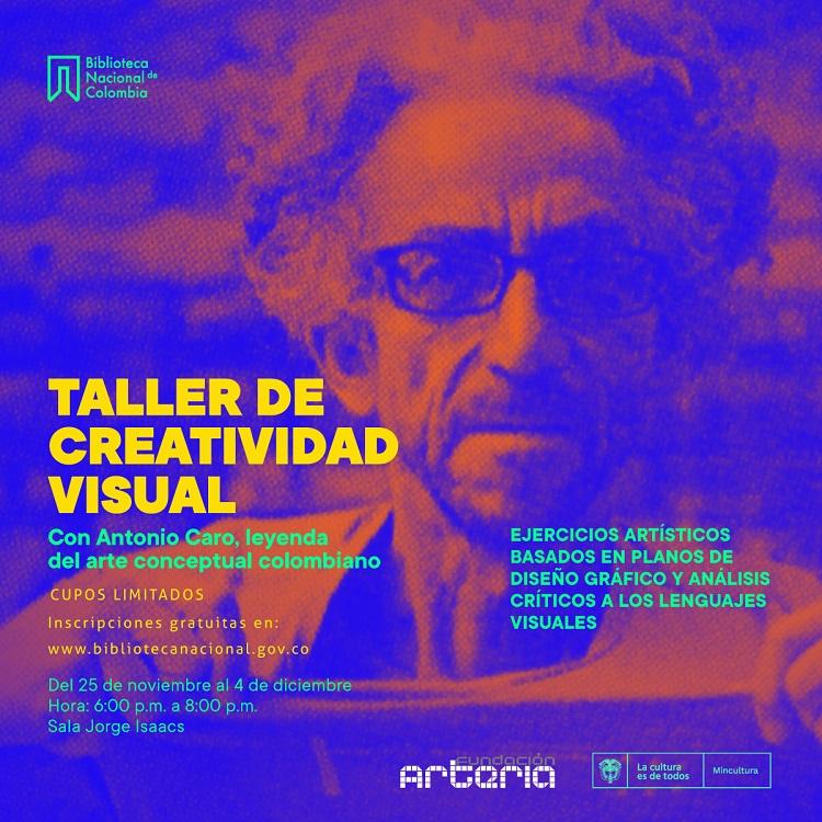 Taller de creatividad visual con Antonio Caro