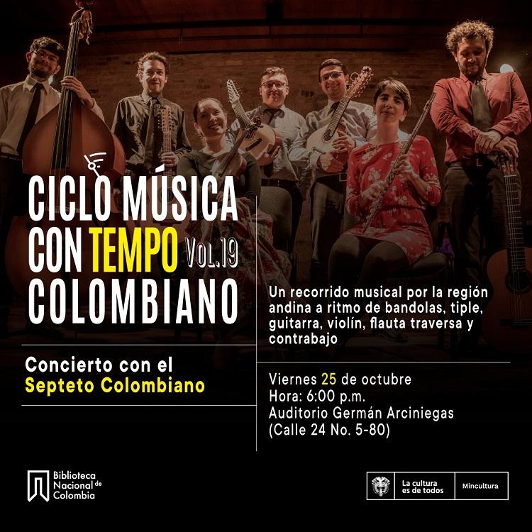 Música ConTempo: Concierto con el Septeto Colombiano