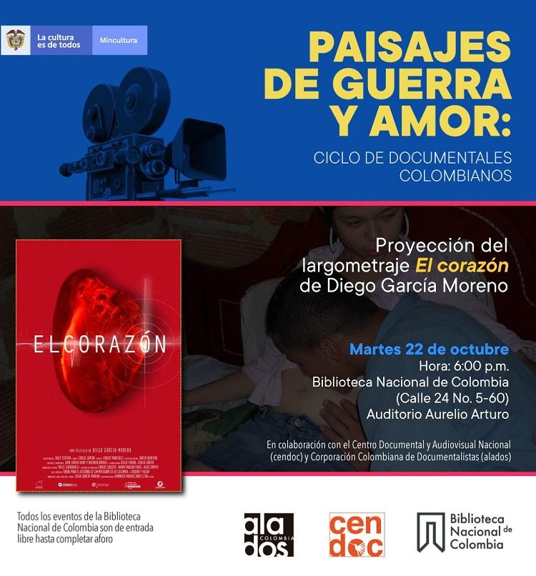 Ciclo de documentales colombianos - Paisajes de guerra y amor: